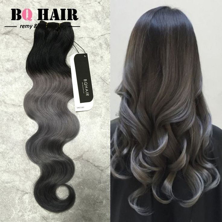 BQ-Hair-Fashion-Color-Dark-Grey-Ombre-Brazilian-Hair-8A-Beauty-Forever-3-Bundles-Body-Wave