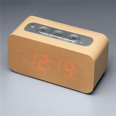 audiosonic wood style clock radio kmart ideas for the house pinterest products radios. Black Bedroom Furniture Sets. Home Design Ideas