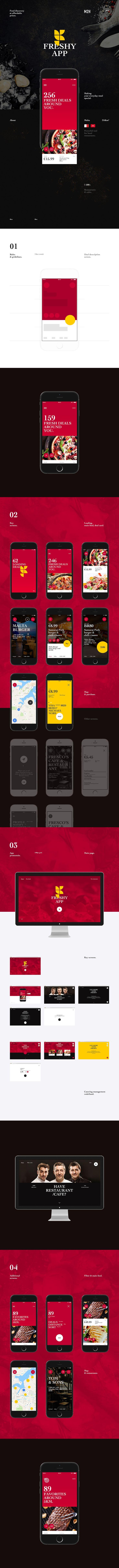 Freshy App, Интерфейс © АлександрЛагута