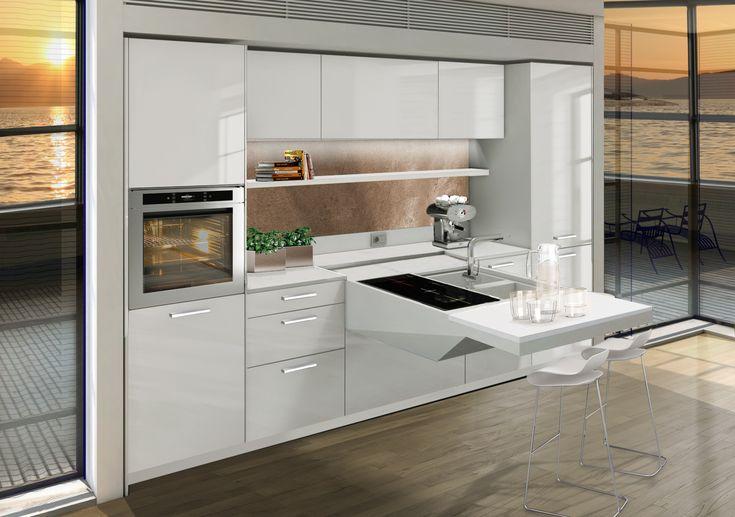 prezzi cucine moderne piccoli spazi - cerca con google   cucina ... - Cucina Piccoli Spazi