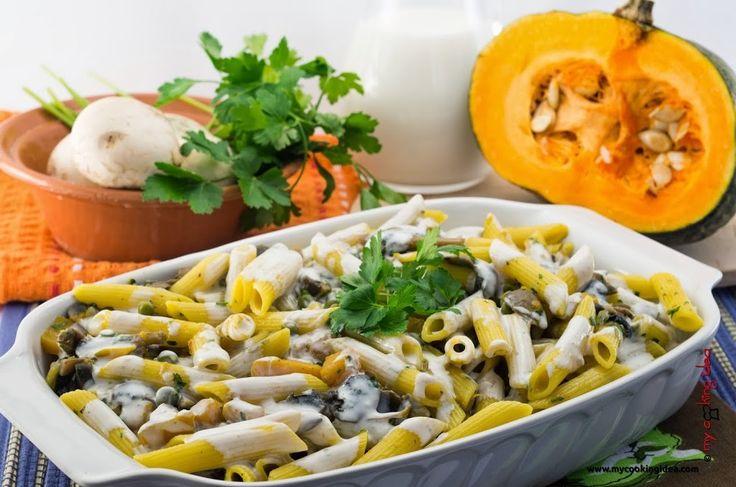 Pasta al forno con verdure, ricetta - My cooking idea http://www.mycookingidea.com/2014/02/pasta-al-forno-con-verdure/