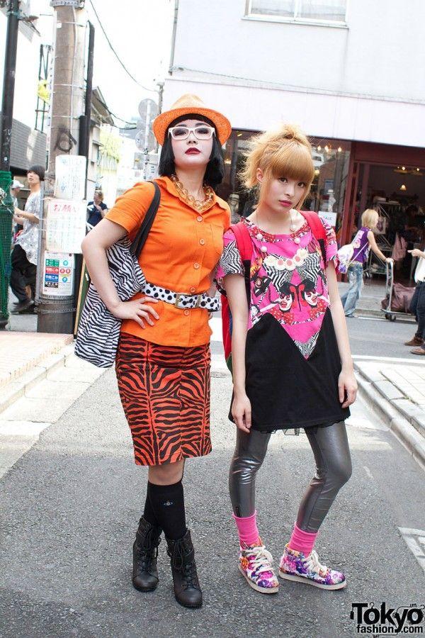 Harajuku street fashion | Raichi and Kyary