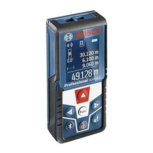 Bosch Professional Laser Measure Glm 50 C Measurement Range 0 05 M 50 M Bluetooth Interface For Apps Ios Android Rotatable Colour Bosch Brand Power Laser