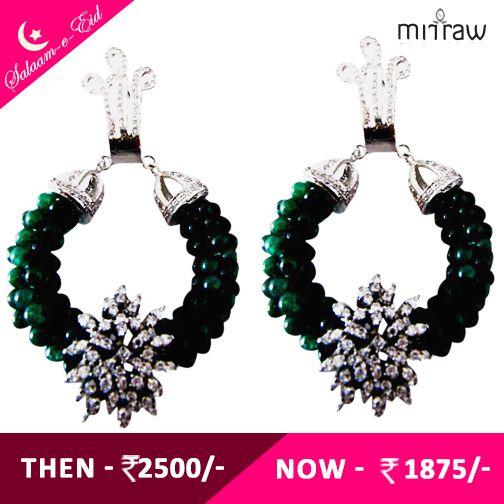 Splendid earrings.Shop Now- http://bit.ly/1IvisrE  #Salaam-e-Eid