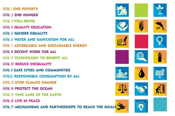 SDG - Goals for a one world government.