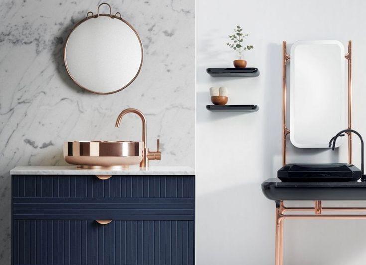 Kupfer Ist Einer Der Größten Trends Seit Letztem Jahr. Ihr Seht Kupfer  überall An Vasen, Lampen, Körben Und Auch In Der Küche Und Dem Badezimmer!  Kupfer.