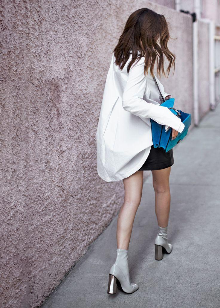 It Bag - Gucci Dionysus – http://tsangtastic.com   Instagram @tsangtastic  Gucci, Acler, Anine Bing, Senso, Street Style Luxe