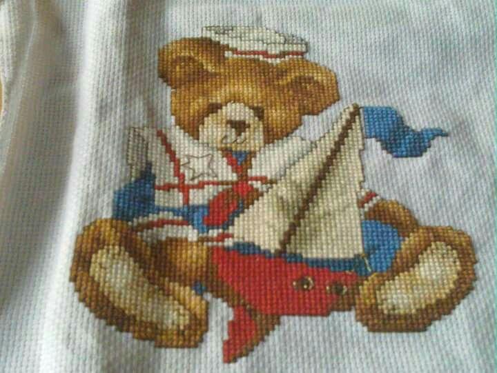 A sailor bear