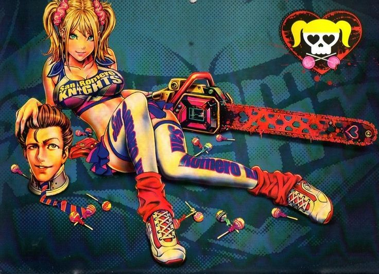 Lollipop Chainsaw by DreamCandice.deviantart.com on @DeviantArt