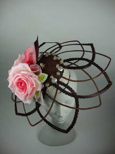 Loreta Corsetti Millinery Atelier #millinery #judithm #hats