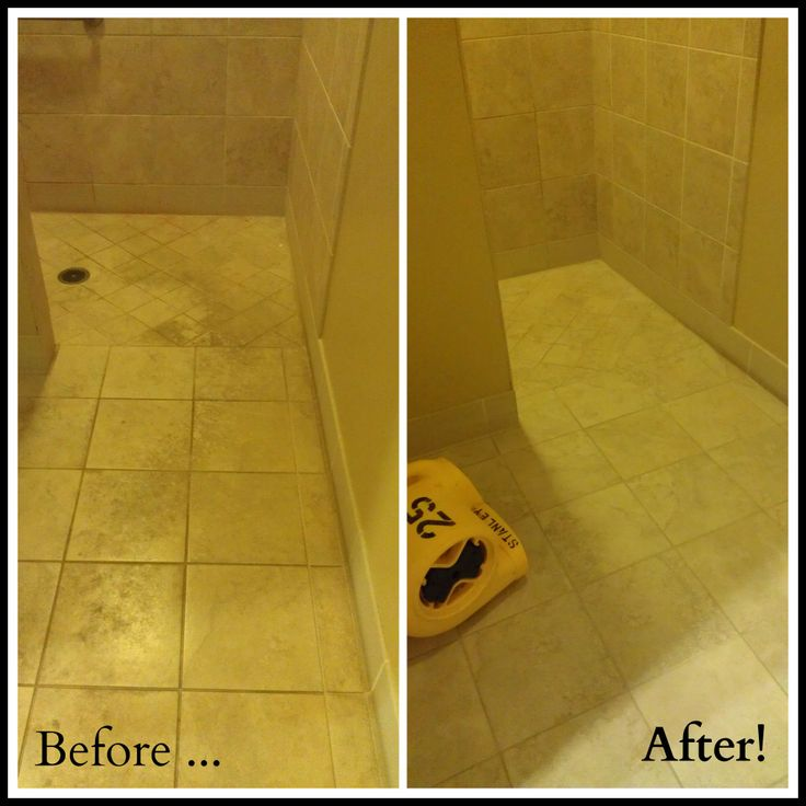 Before Amp After Tile Cleaning From Stanley Steemer Tile