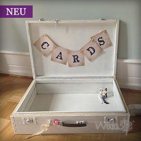 Hochzeitsgeschenke Briefbox | weddstyle