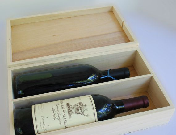 Love Letter Ceremony Winery Wedding Vineyard Wedding Custom Wedding Wine Box Memory BoxTime Capsule for two wine bottles on Etsy, $84.00