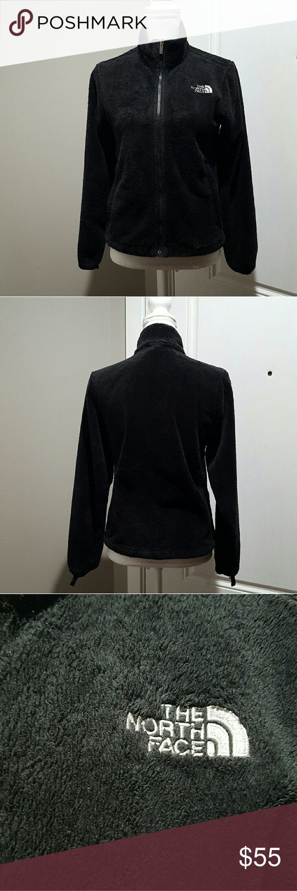 Women's black North Face fleece jacket, size small Women's black The North Face fleece jacket, size small.  No stains or tares. This fleece is a little longer then the normal North Face fleece jackets. The North Face Jackets & Coats