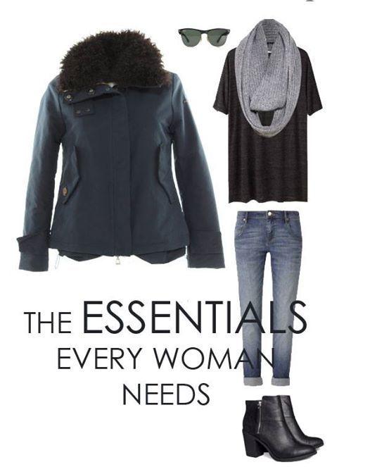 Outfit donna city-trotter. Un look easy e alla moda per un aperitivo con le amiche, un cinema con il fidanzato o una passeggiata di domenica.  http://historic-brand.com/shop/donna/giacca-imbottita/