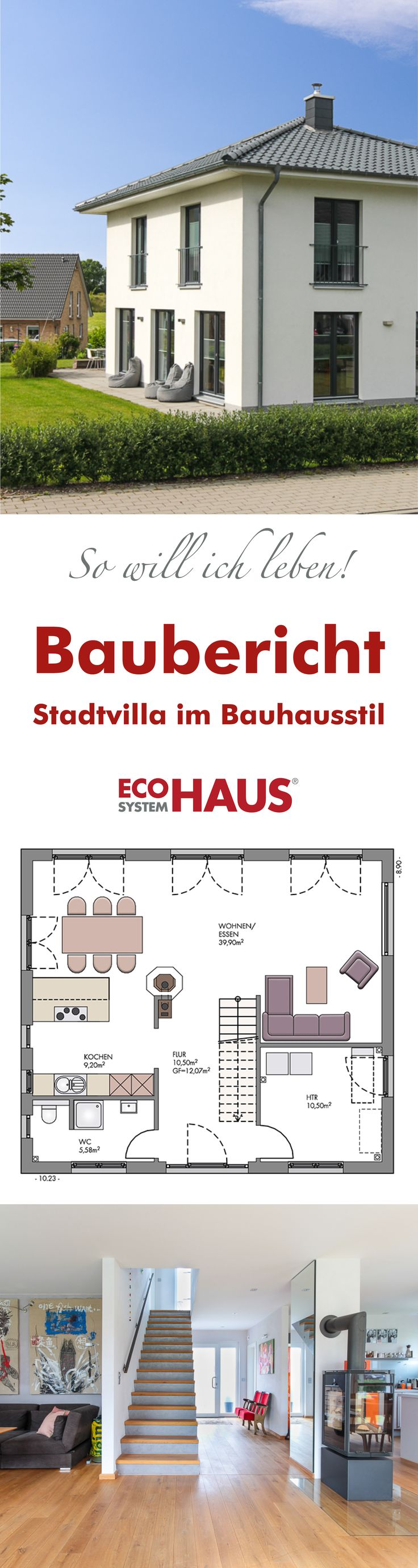 die besten 25 bauhausstil haus ideen auf pinterest fenster eingangst ren und doppelhaus. Black Bedroom Furniture Sets. Home Design Ideas