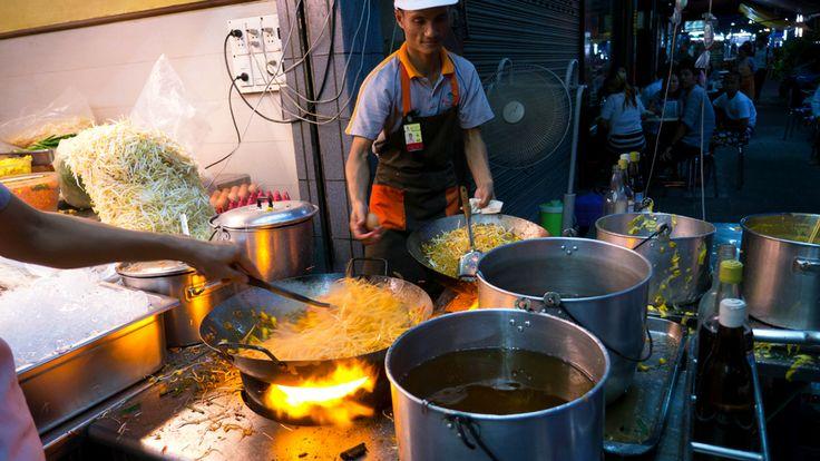 The best of Bangkok's street food-BBC