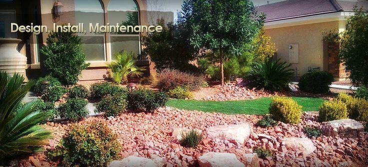 12 best images about dream front yard on pinterest for Garden design las vegas