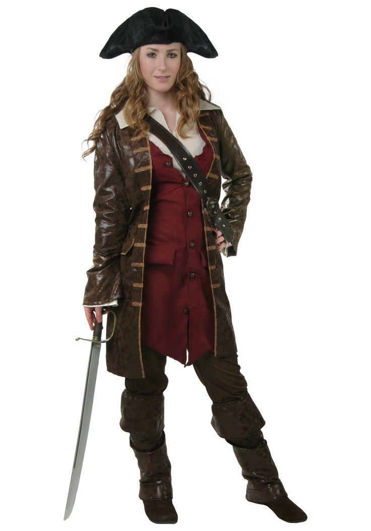 Authentic Female Pirate Costume