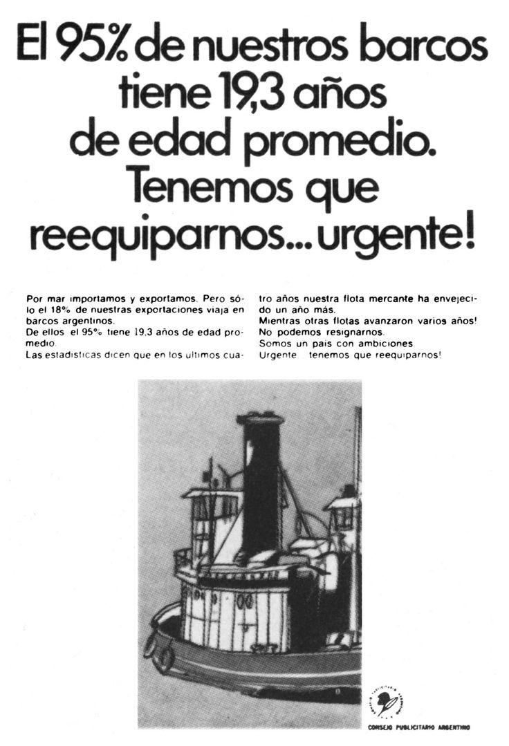 """""""Creación de Conciencia Marítima 5""""-1969"""