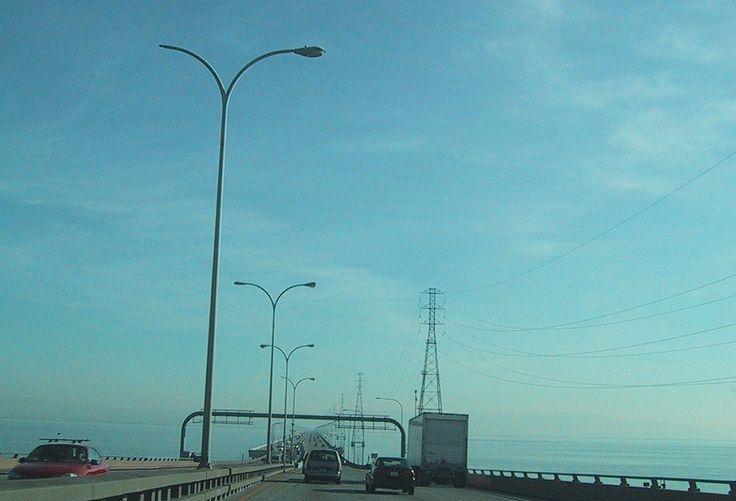 https://flic.kr/p/TLKPhY | san mateo bridge | san mateo bridge