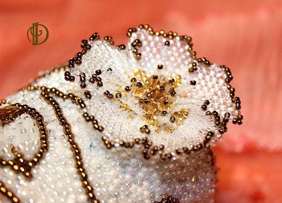 Свадебный браслет от InessaGlassberry на Etsy