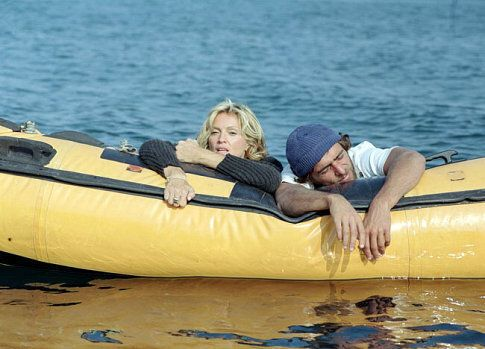 """Adriano Giannini and Madonna in """"Swept Away"""" (2002)"""