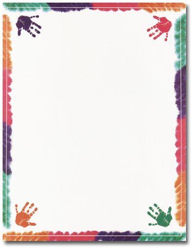 School Page Borders Preschool Memory Book Stuff