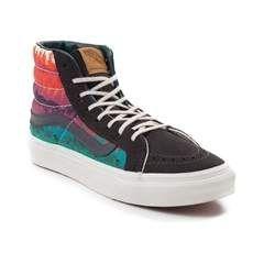 Vans Sk8 Hi Slim Mountain Ombre Skate Shoe