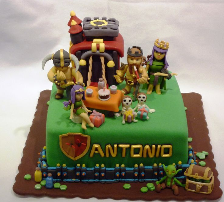 Awesome pictures of clash of clans : what does clash of clans cake look like? 9