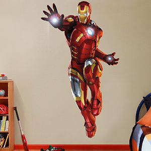 Beautiful Iron Man: The Armored Avenger Fathead Wall Decal Part 12