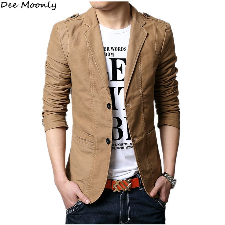 2016 Autumn New Men Blazer Fashion Slim casual blazer for Men Brand Mens suit Designer jacket outerwear men 3 colors M~XXXXXL //Price: $57.27 & FREE Shipping //     #WallArt