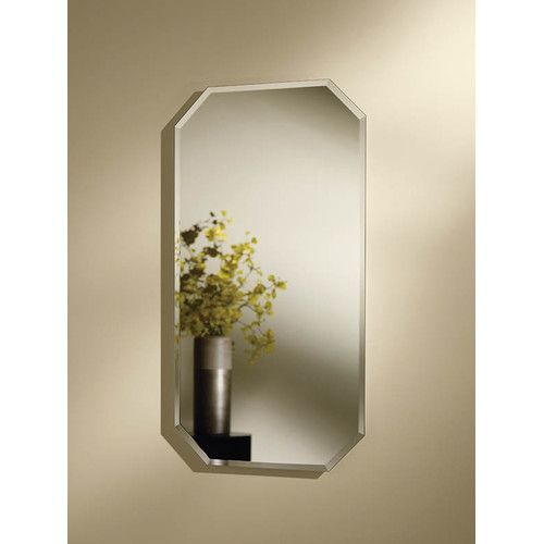 Broan mirage x 32 recessed beveled edge medicine for Bathroom medicine cabinets 14 x 18