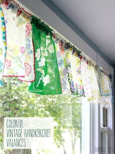 Vintage Hankie DIY Ideas - What to Do With Vintage Handkerchiefs - Good Housekeeping