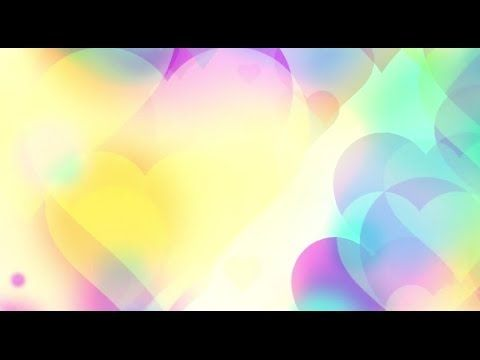 Color romantic hearts love - HD animated background #45