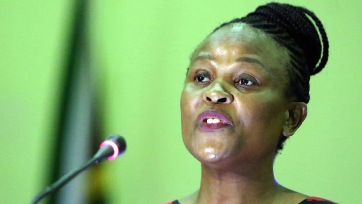 The Holocaust denier, the public protector and the Reserve Bank.  Public protector Busisiwe Mkhwebane. (Gallo)