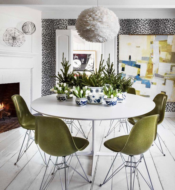 Seeing Green With Midcentury Modern Inspired Chairs