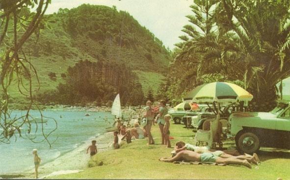 Pilot Bay, Mt Maunganui, 1960s