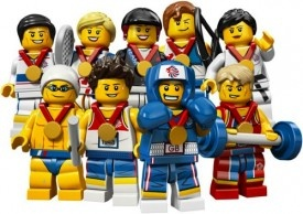 The Great Britain Olympic Team, Now in LEGO