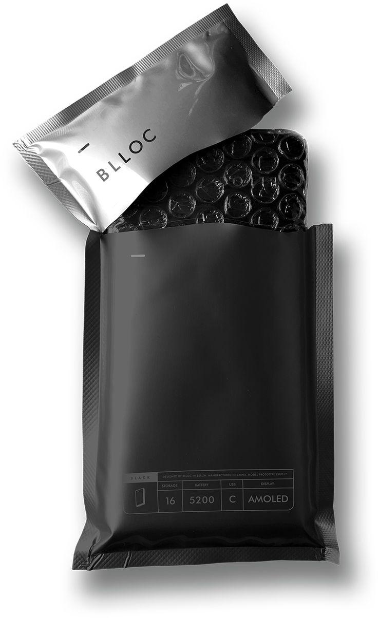 3D Mobile phone packaging Unpretentious/approachable