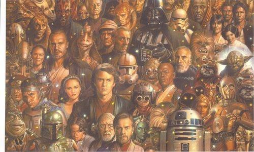 Star Wars Lithograph