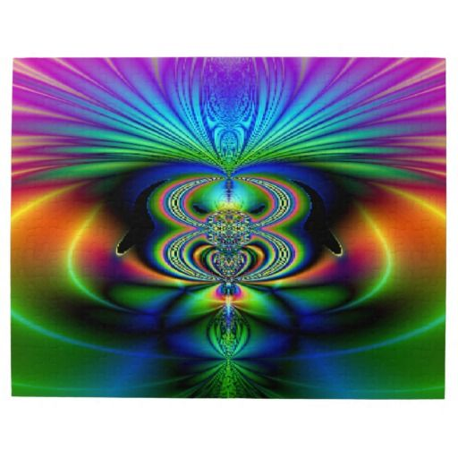 Funky Fractal (10x14) Puzzle