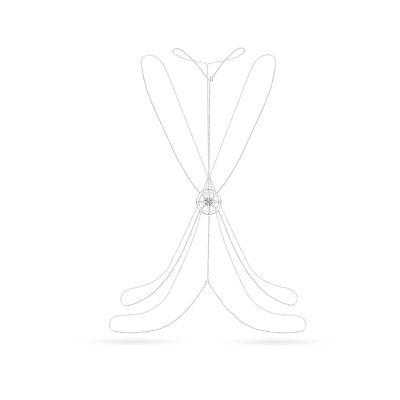Niezwykły naszyjnik z ambasadorskiej kolekcji Freedom dla W.KRUK, stworzonej we współpracy z Martyną Wojciechowską. Naszyjnik typu body chain - rodzaj biżuterii zakładanej na ciało, nie tylko jako biżuteria plażowa, ale także jako dodatek do wyciętych bluzek i sukienek. Główny element ozdobny znajduje się na plecach i jest to róża wiatrów – wskazująca drogę życiową i cel. To jeden z symboli wolności w kolekcji Freedom by Martyna, w której oprócz body chain można znaleźć wiele klasycznych…