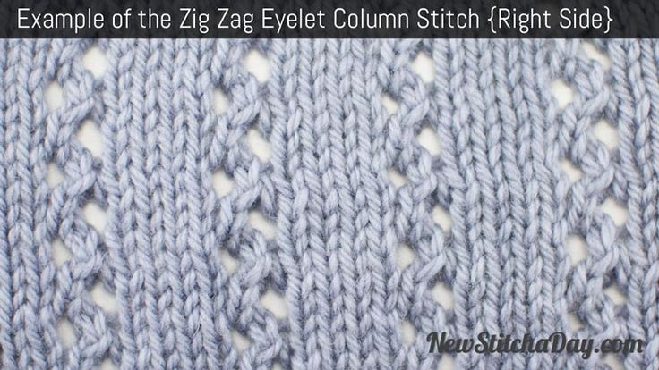 1000+ images about Stitches: Eyelet on Pinterest How To Knit, Stitches and ...