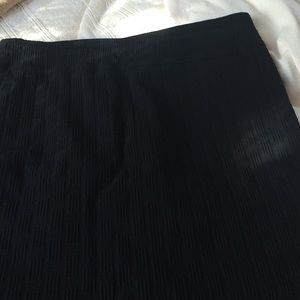 I just discovered this while shopping on Poshmark: Black stretch pencil skirt. Check it out! Price: $9 Size: L