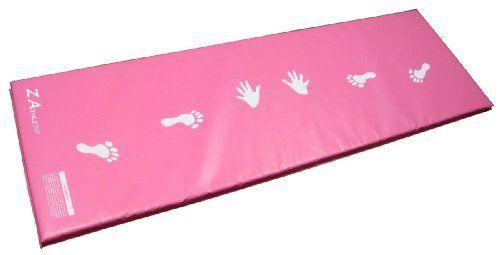 Z-Athletic Pink Children's Gymnastics Cartwheel / Beam Training Mat