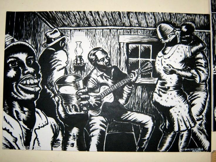 jammin' the blues (Robert Crumb)