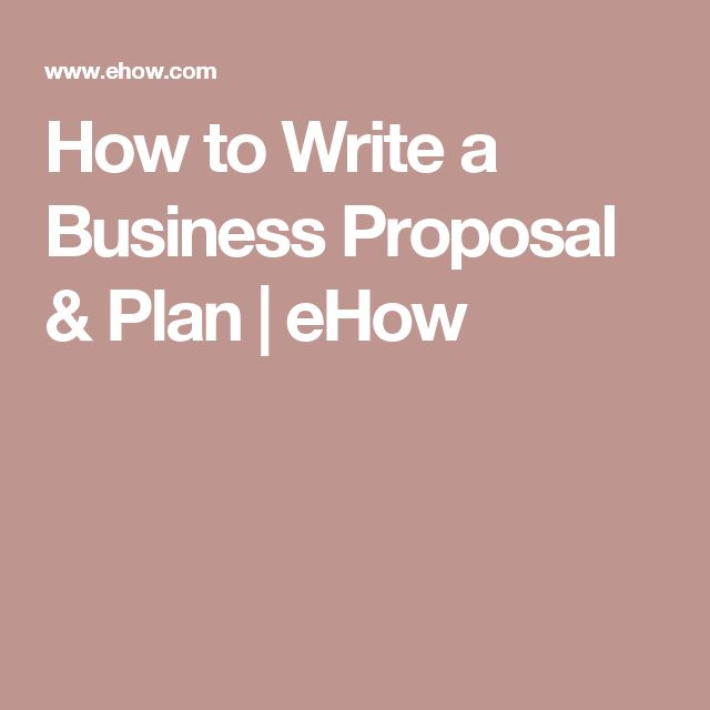 The 25+ best Writing a business proposal ideas on Pinterest - business proposals