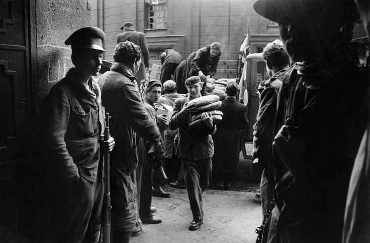 Erich Lessing - Budapest. October-November 1956. Insurrection.