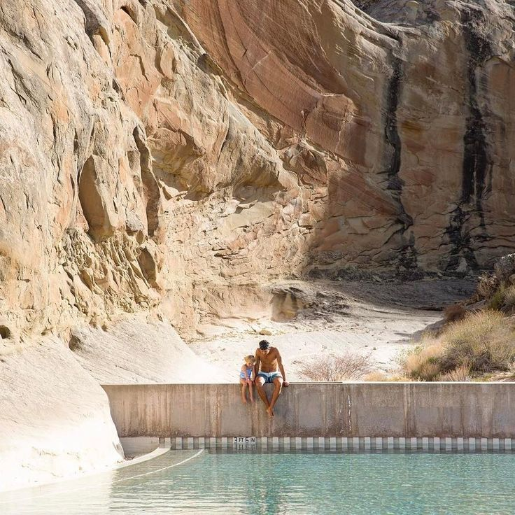 Spend some time at a desert oasis in Amangiri, Utah. | Photo Credit: The Bucket List Family